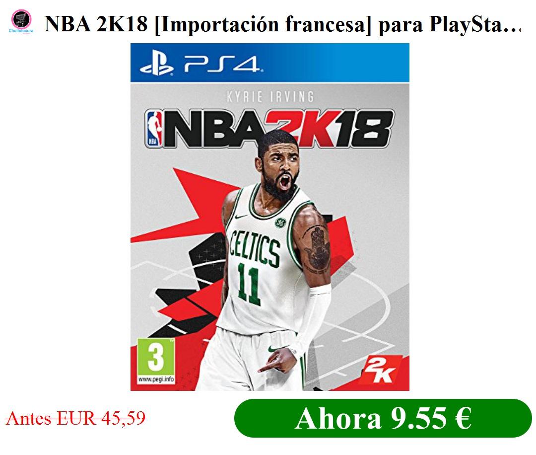 NBA 2K18 [Importación francesa]: Amazon.es: Videojuegos